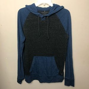 American Eagle   Athletic Fit Thin Hoodie Xsmall